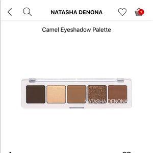 Natasha denona camel eyeshadow pallet